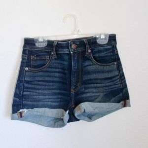 Dark Wash Shorts